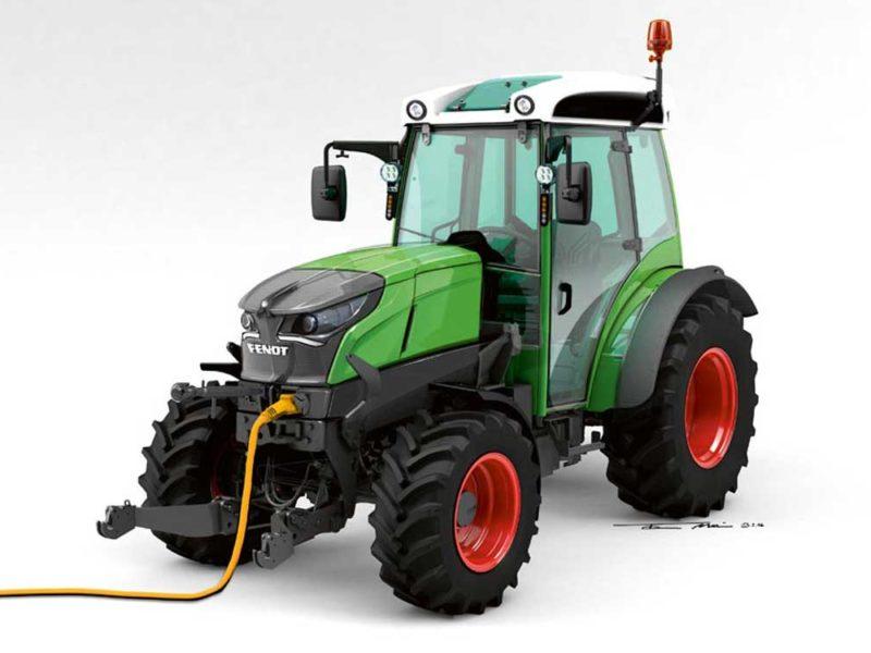 Elektrotraktor-Fendt-Energieeffiziente-Landwirtschaft