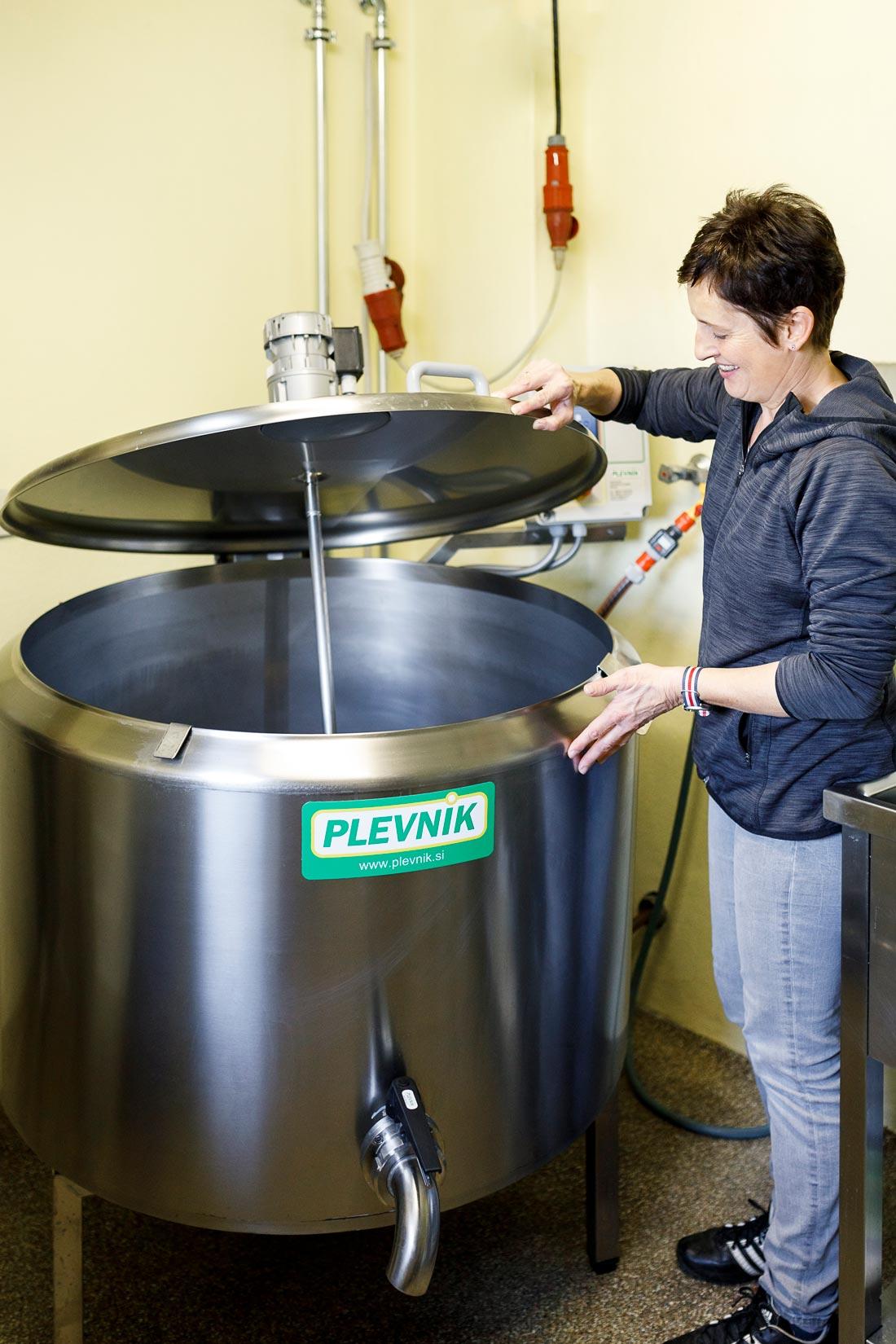 Energieeffizienter Pasteur für die Joghurt und Topfenproduktion