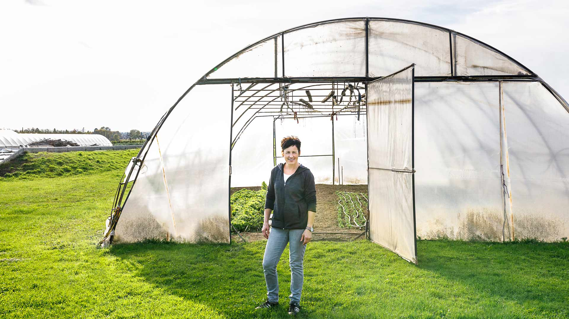 Brigitte Riedl, überzeugte Energieeffizienz-Bäuerin. Foto: Stiefkind-Fotografie