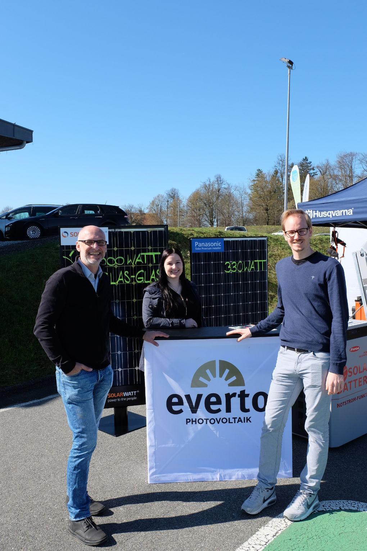 Photovoltaik und Stromspeicher vom Photovoltaik-Profi Everto. © Daniela Greiner